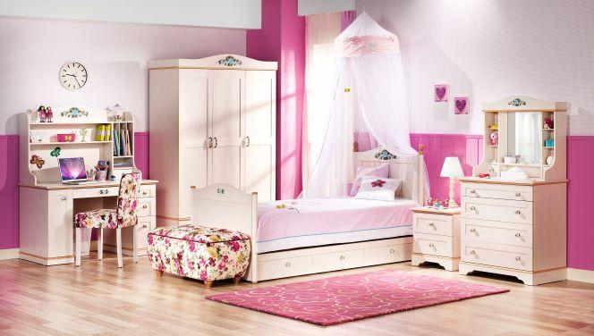 Flora Ifjúsági Bútor Szett