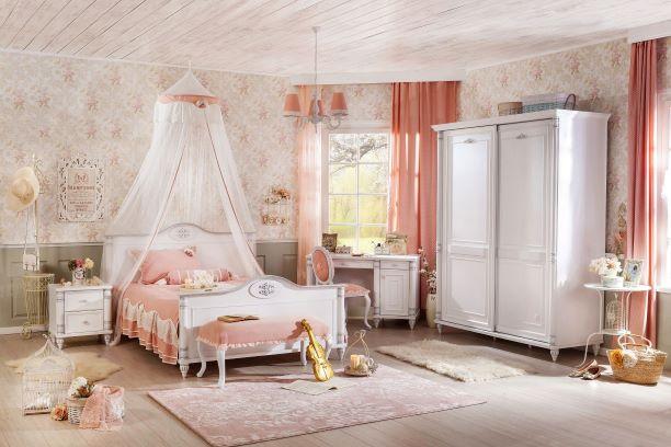 Romantic Ifjúsági Bútor Szett