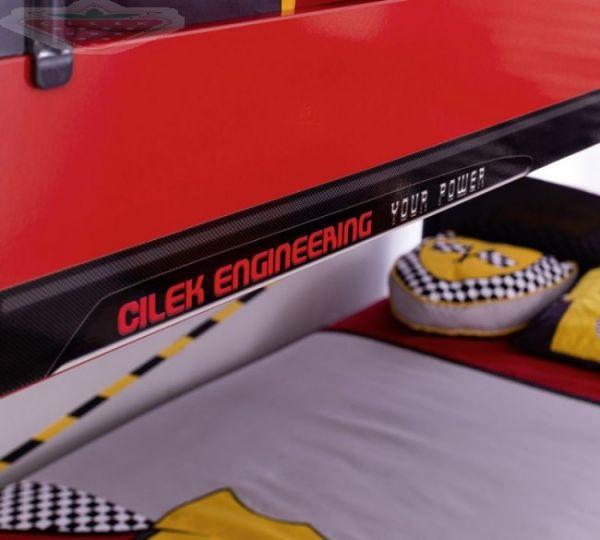 Champion Racer Emeletes Ágy (90x200 Cm) Ajándék Pótággyal (90x190 Cm)