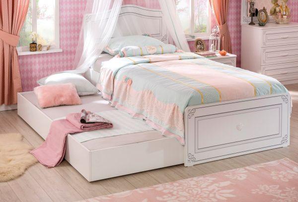 Selena Ifijúsági Ágy (100×200 cm) és Pótágy (90×190 cm) (Bemutatódarab)
